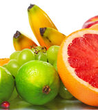 Fruits 1234 Images libres de droits