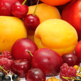 Fruits. Isolated on a white Royalty Free Stock Images