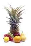 Fruits. Various fruits on white background Stock Photo