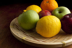 Fruits. Fresh fruits on the table Royalty Free Stock Photography