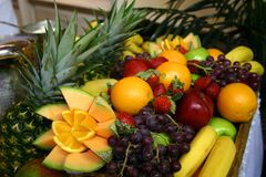 Fruits. Assortment of fresh fruits consisting of Stock Photography