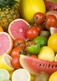 Fruits. Watch fruits. Eat fruits. Buy fruits Royalty Free Stock Photography