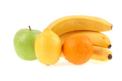Fruits. Isolated on white background Stock Image