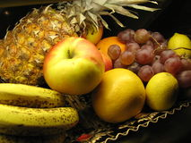 Fruits. Exotic Fruits in the basket Stock Photo