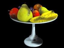 Fruits 3d Stock Photo