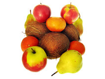 Fruits. On white. See my other images of Stock Photo