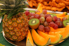 Fruits. Detail of many types of fruits Royalty Free Stock Photos