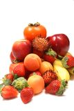 Fruits. A Mixed Fresh Healthy Fruits Royalty Free Stock Photos