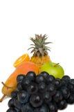 Fruits. Fresh fruits isolated on white Stock Photo