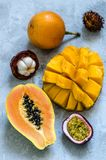 Fruits admirablement exotiques Photos libres de droits
