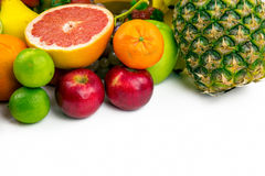 Fruits All Together Royalty Free Stock Photography