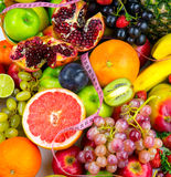 Fruits All Together Royalty Free Stock Images