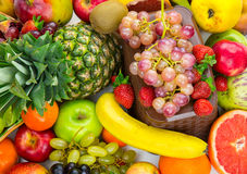 Fruits All Together Stock Photography
