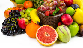 Fruits All Together Royalty Free Stock Image