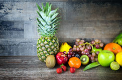 Fruits All Together Royalty Free Stock Photos