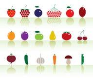Fruits&vegetables Stock Afbeeldingen