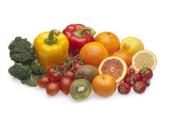 Free Fruits And Vegetables Royalty Free Stock Images - 14139789