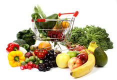 Free Fruits And Vegetables Stock Photo - 17277890
