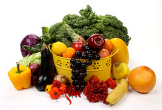 Free Fruits And Vegetables Stock Image - 17362461