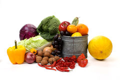 Free Fruits And Vegetables Stock Image - 17466331