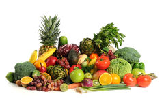 Free Fruits And Vegetables Stock Images - 17656004