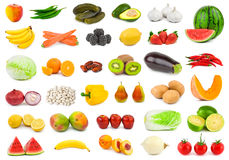 Fruits And Vegetables Royalty Free Stock Photos