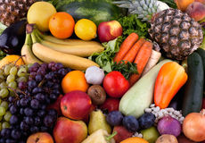 Free Fruits And Vegetables Stock Images - 34864274