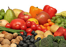 Free Fruits And Vegetables. Stock Photo - 4030150