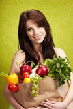 Fruits And Vegetables Concept Stock Images