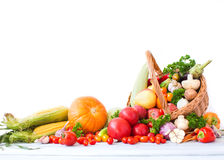 Fruits And Vegetables Pile. Royalty Free Stock Photo
