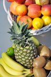 Fruits arrangement Royalty Free Stock Photos
