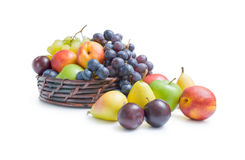 Fruits arrangement Royalty Free Stock Photography