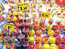 Fruits au marché photographie stock