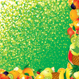 Fruits Backdrop Royalty Free Stock Photography
