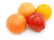 Fruits background. Decorative fruits is on good food Stock Photo