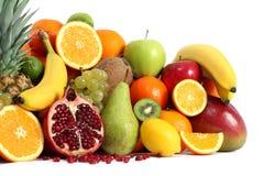 Fruits background isolated Royalty Free Stock Image