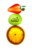 Fruits in balance Stock Images