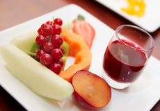 Fruits or banquet table Stock Photography