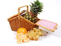 Fruits basket Stock Photo