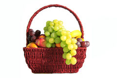 Fruits in a basket Stock Image