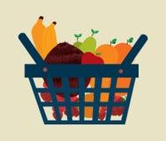 Fruits basket Royalty Free Stock Photo