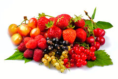 Fruits and berries Stock Photography