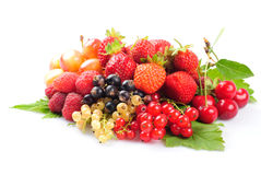 Fruits and berries Royalty Free Stock Image