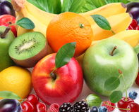 Fruits and berries. Colorful image Royalty Free Stock Image