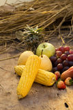 Fruits berries and vegetables. Healthy food background. Fruits berries and vegetables. Healthy food background Royalty Free Stock Image