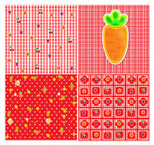 Fruits and Berry seamless pattern Royalty Free Stock Image