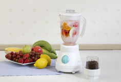 Fruits blender machine Stock Photo