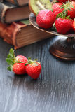 Fruits And Books Royalty Free Stock Images