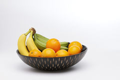 Fruits in a bowl Royalty Free Stock Photo