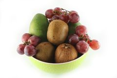 Fruits & bowl Royalty Free Stock Images